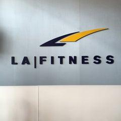 Photo taken at LA Fitness by Mubarak A. on 4/26/2015