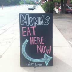 Photo taken at Mona's Restaurant by Christie H. on 6/3/2012