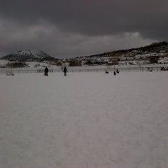 Photo taken at Quidi Vidi Dog Park by Chris D. on 2/23/2013