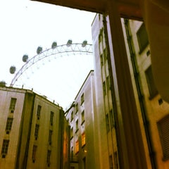 Photo taken at Premier Inn London County Hall by Andrew S. on 10/2/2012