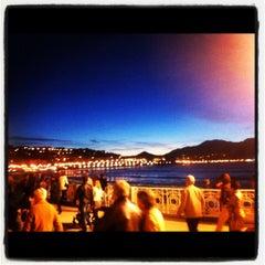 Photo taken at Café de La Concha by Juan I. on 11/2/2012