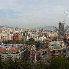 Photo taken at Parc de Bombers de Montjuïc by Shunsuke Y. on 10/20/2013