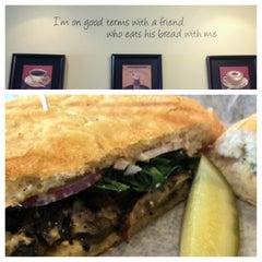 Photo taken at Artisano Bakery Café by John B. on 3/4/2013