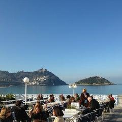 Photo taken at Café de La Concha by 2LOVERS D. on 1/8/2013
