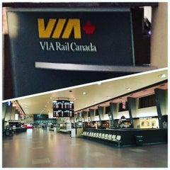 Photo taken at VIA Rail Train 63 to Toronto by Daniela C. on 2/3/2016