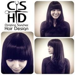 Photo taken at Christina Sanchez Hair Design @ gods&heros salon by Christina on 3/2/2015