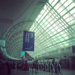 Photo taken at Terminal 3 by Ryan N. on 5/23/2013