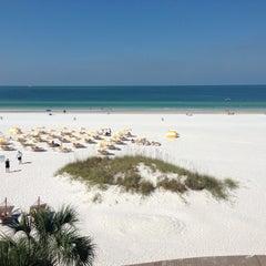 Photo taken at Sandpearl Resort by Thomas B. on 10/11/2012
