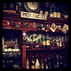Photo taken at Mollie's Irish Pub by Sergey K. on 3/1/2013