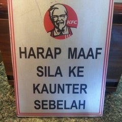 Photo taken at KFC Limbang Plaza by catty p. on 4/16/2013