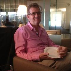Photo taken at Qantas Club Lounge by Gerard S. on 4/2/2013