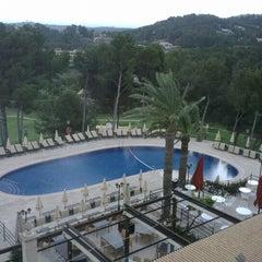 Photo taken at Castillo Hotel Son Vida by Sandra K. on 5/17/2013