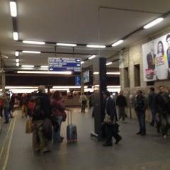 Photo taken at Stazione Venezia Mestre by Saad O. on 3/22/2013