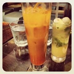 Photo taken at Qi Esarn Thai Kitchen by Max W. on 7/27/2012