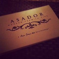 Photo taken at Asador Restaurant by Jason S. on 8/11/2012