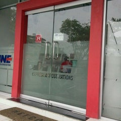 Photo taken at JNE Express by lady g. on 4/23/2012