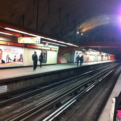 Photo taken at Metro Mixcoac (Líneas 7 y 12) by Carlos E. on 2/11/2012