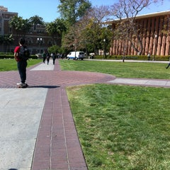 Photo taken at McCarthy Quad by Asbed B. on 3/21/2012