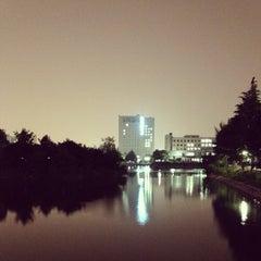 Photo taken at 건국대학교 (Konkuk University) by Yoonski K. on 5/22/2012