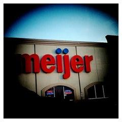 Photo taken at Meijer by Matt B. on 6/11/2012