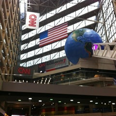 Photo taken at CNN Center by Nadia H. on 8/29/2012