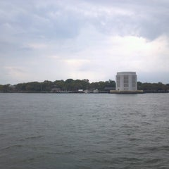Photo taken at Governors Island - Pier 101 by William D. on 9/2/2012