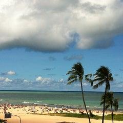 Photo taken at Praia do Pina by Any Perla on 4/21/2012
