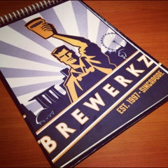 Photo taken at Brewerkz Restaurant & Microbrewery by Sherwin A. on 8/15/2012