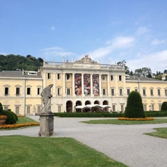Photo taken at Villa Olmo by Andrea M. on 7/11/2012