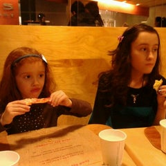 Photo taken at Jules Thin Crust Pizza by Pam L. on 2/25/2012