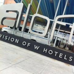 Photo taken at Aloft Tulsa by Tommy C. on 3/6/2012