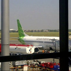 Photo taken at JUANDA AIRPORT - GATE 18 by Agif k. on 6/29/2012