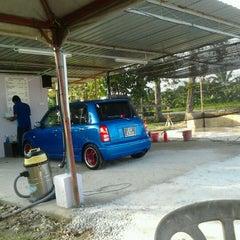 Photo taken at Azeez Car Wash by Syukri B. on 3/15/2012
