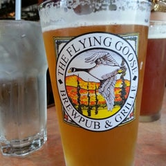 Photo taken at Flying Goose Brew Pub & Grille by Sarah H. on 8/6/2012