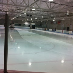 Photo taken at Arena Chomedey by Thibaud D. on 2/12/2012
