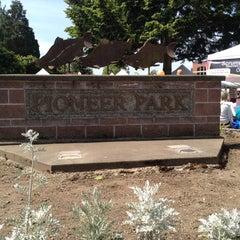 Photo taken at Pioneer Park by Joel B. on 5/19/2012