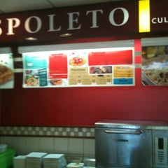 Photo taken at Spoleto Culinária Italiana by Lucas G. on 3/24/2012