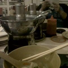 Photo taken at De Cafe (Ruko Bandar) by Henny C. on 4/2/2012