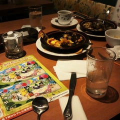 Photo taken at デニーズ 米が浜店 by Keibon I. on 4/3/2012