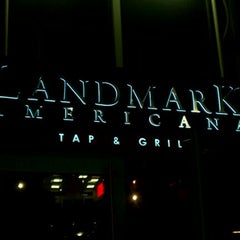 Photo taken at Landmark Americana Tap & Grill by Darrell S. on 6/1/2012