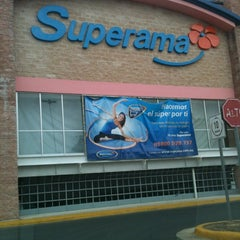 Photo taken at Superama Montejo by Carlos Guillermo A. on 5/14/2012