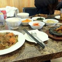 Photo taken at Kim Baek Korean Restaurant by Mina on 3/6/2012