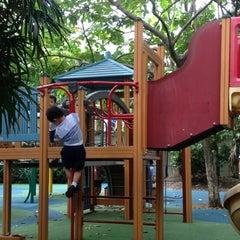 Photo taken at Playground by Pat B. on 8/10/2012
