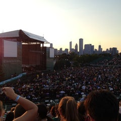 Photo taken at FirstMerit Bank Pavilion at Northerly Island by Kevin C. on 7/10/2012