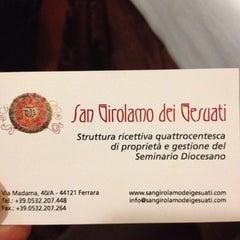 Photo taken at San Girolamo dei Gesuati by Michele F. on 3/24/2012