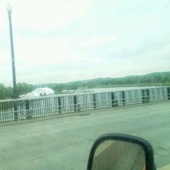 Photo taken at John Philip Sousa Bridge by Steve W. on 4/18/2012