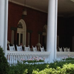 Photo taken at The Front Porch at The Homestead by Tina L. on 6/27/2012