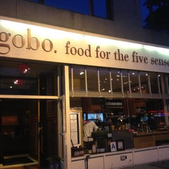 Photo taken at Gobo - Food for the Five Senses by Joey S. on 6/16/2012