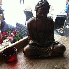Photo taken at Café 60 by Olga D. on 4/28/2012