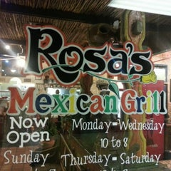 Photo taken at Rosa's Mexican Grill by Jared J. on 9/8/2012